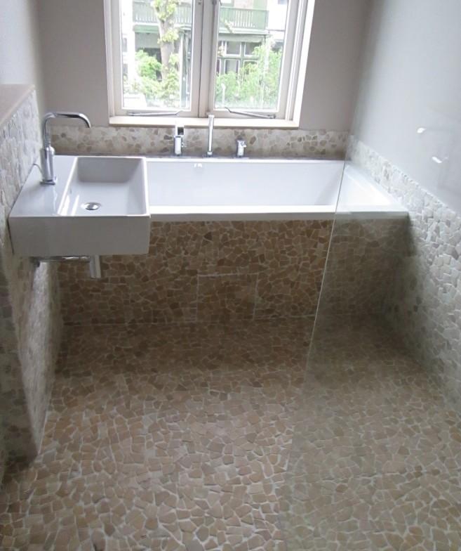 Badkamer natuurtinten - Badkamer zen natuur ...